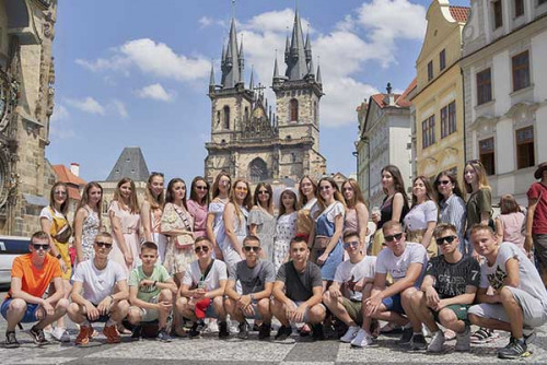 випускні тури Прага