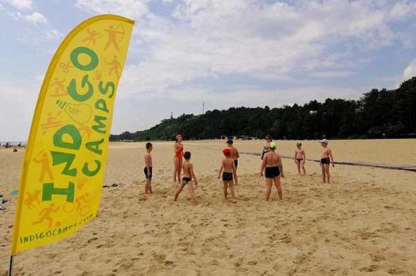 indigo camp пляж