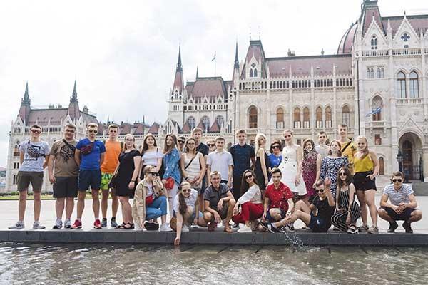 випускний тур Будапешт-Відень-Верона